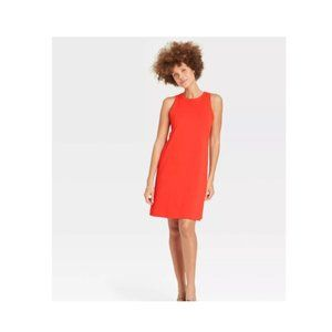 A New Day Women's Tank Dress Red S NWT